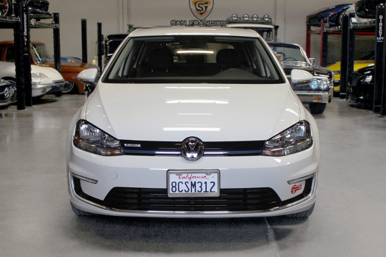 Used 2017 Volkswagen E-GOLF SE for sale Sold at San Francisco Sports Cars in San Carlos CA 94070 2