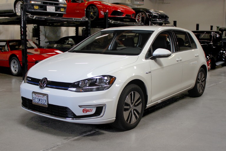 Used 2017 Volkswagen E-GOLF SE for sale Sold at San Francisco Sports Cars in San Carlos CA 94070 3