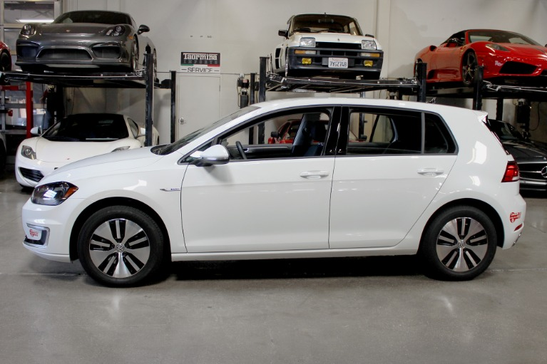Used 2017 Volkswagen E-GOLF SE for sale Sold at San Francisco Sports Cars in San Carlos CA 94070 4