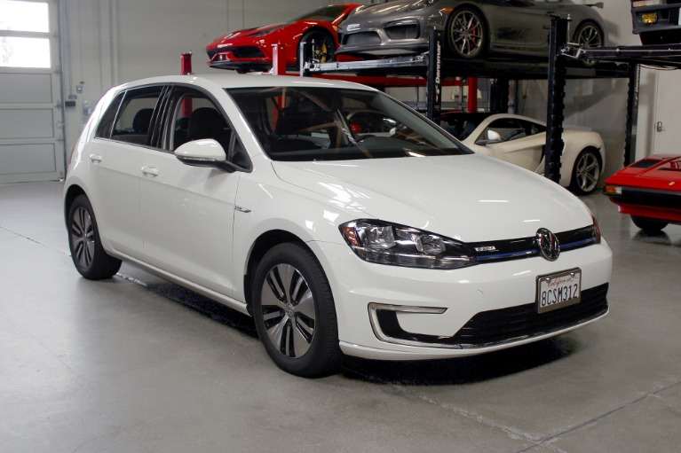 Used 2017 Volkswagen E-GOLF SE for sale $18,995 at San Francisco Sports Cars in San Carlos CA