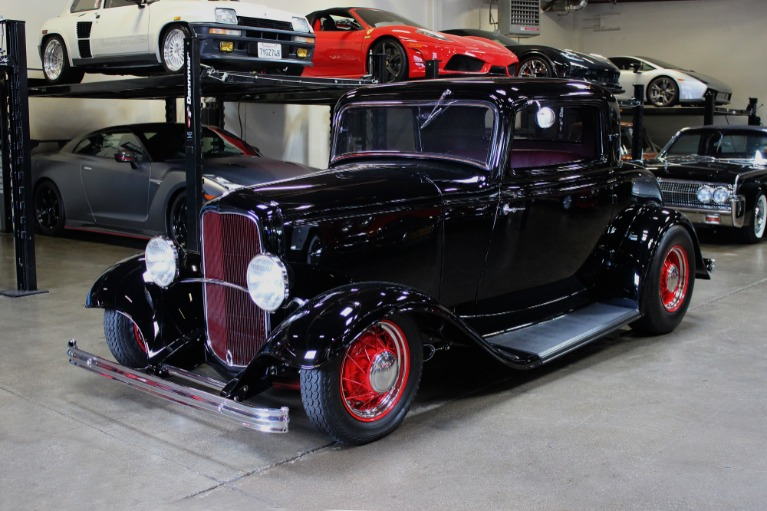Used 1932 Ford Coupe Hot Rod for sale $119,995 at San Francisco Sports Cars in San Carlos CA 94070 3