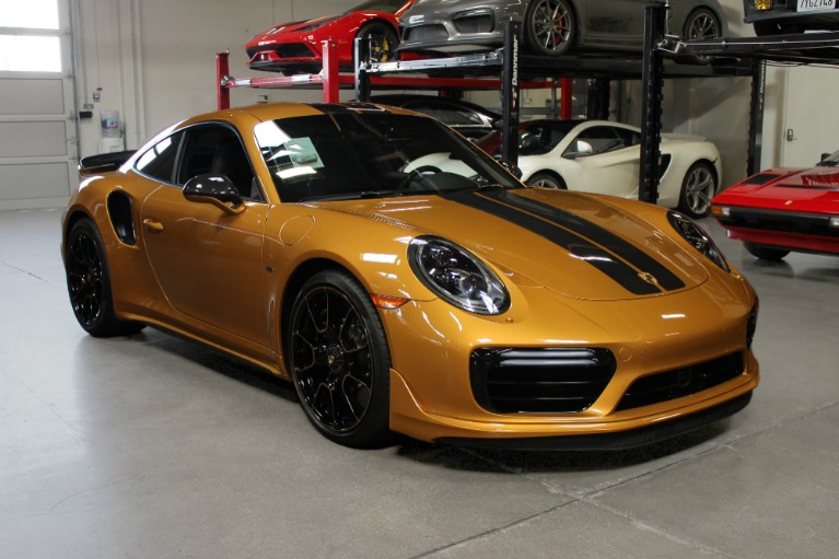Used 2018 Porsche 911 Turbo S Exclusive for sale $249,995 at San Francisco Sports Cars in San Carlos CA