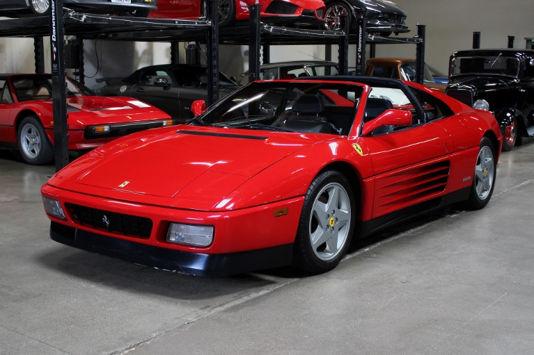 Used 1989 Ferrari 348 ts for sale Sold at San Francisco Sports Cars in San Carlos CA 94070 3