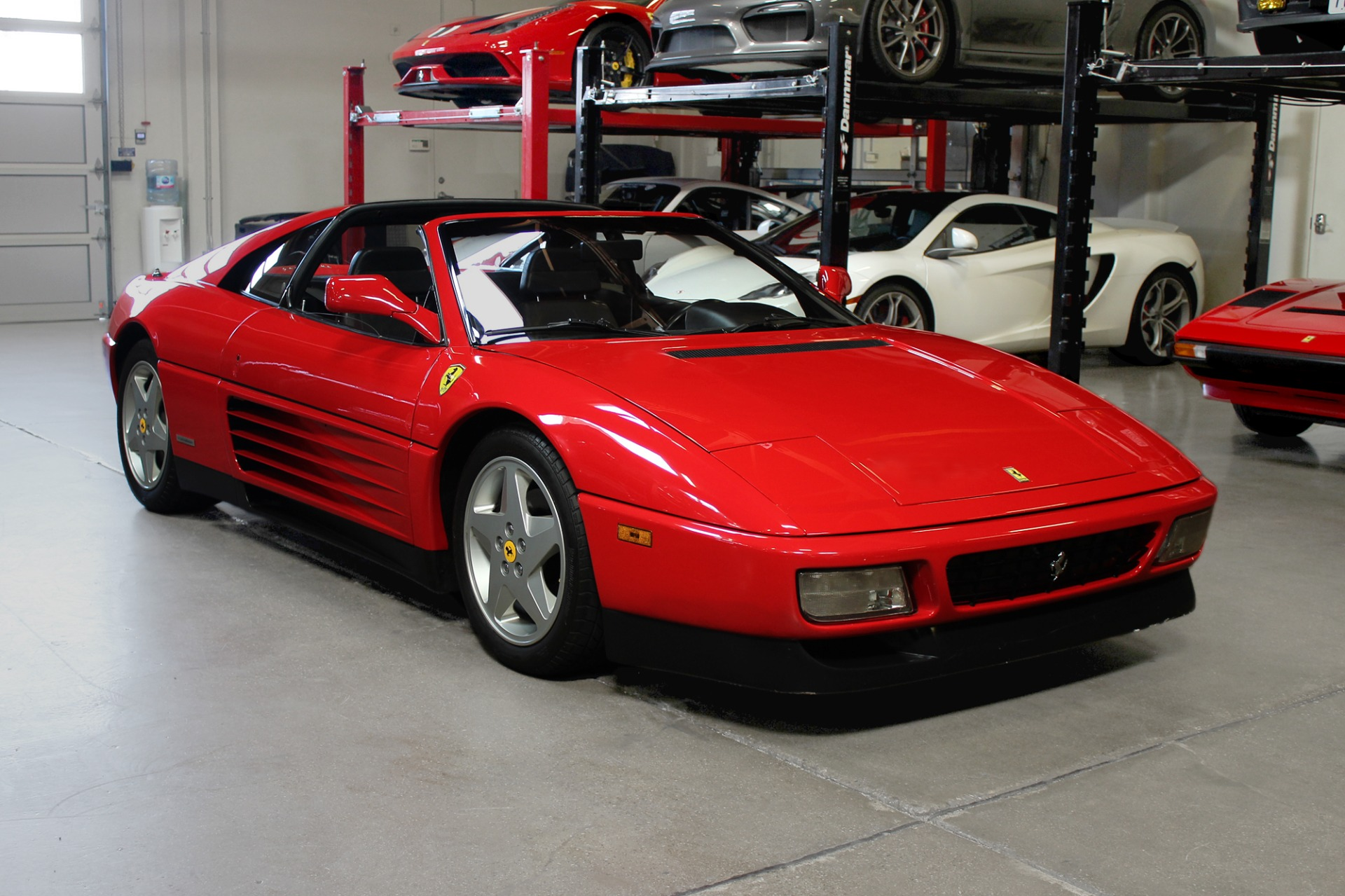Used 1989 Ferrari 348 ts for sale Sold at San Francisco Sports Cars in San Carlos CA 94070 1