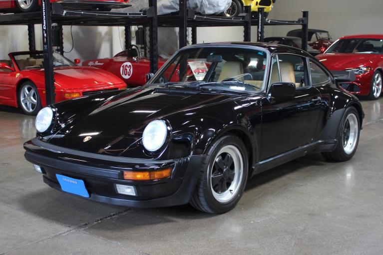 Used 1987 Porsche 911 Turbo for sale Sold at San Francisco Sports Cars in San Carlos CA 94070 3