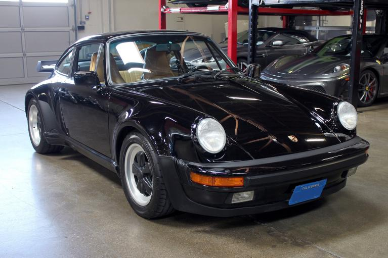 Used 1987 Porsche 911 Turbo for sale Sold at San Francisco Sports Cars in San Carlos CA 94070 1
