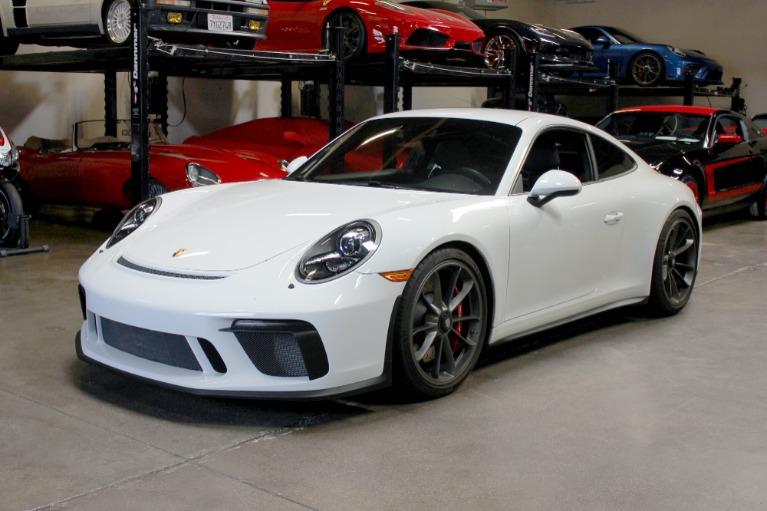 Used 2018 Porsche 911 GT3 Touring for sale Sold at San Francisco Sports Cars in San Carlos CA 94070 3