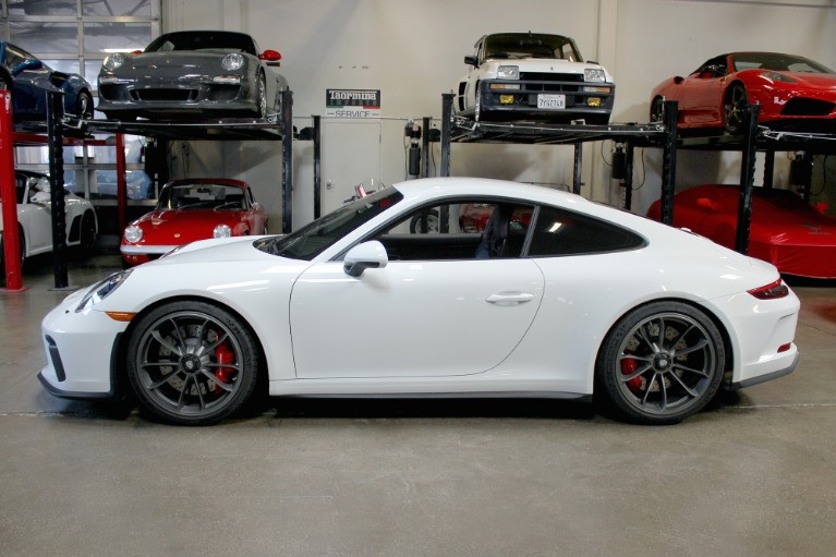 Used 2018 Porsche 911 GT3 Touring for sale Sold at San Francisco Sports Cars in San Carlos CA 94070 4