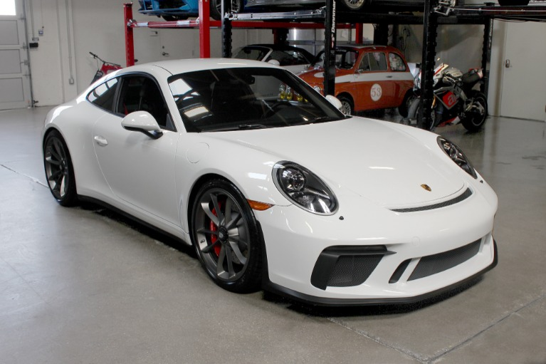 Used 2018 Porsche 911 GT3 Touring for sale Sold at San Francisco Sports Cars in San Carlos CA 94070 1