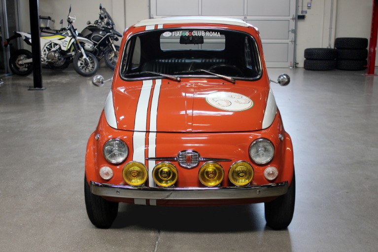 Used 1972 FIAT 500L for sale Sold at San Francisco Sports Cars in San Carlos CA 94070 2