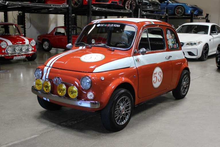 Used 1972 FIAT 500L for sale Sold at San Francisco Sports Cars in San Carlos CA 94070 3