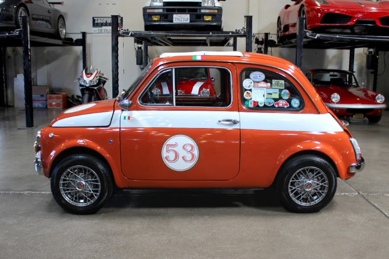 Used 1972 FIAT 500L for sale Sold at San Francisco Sports Cars in San Carlos CA 94070 4