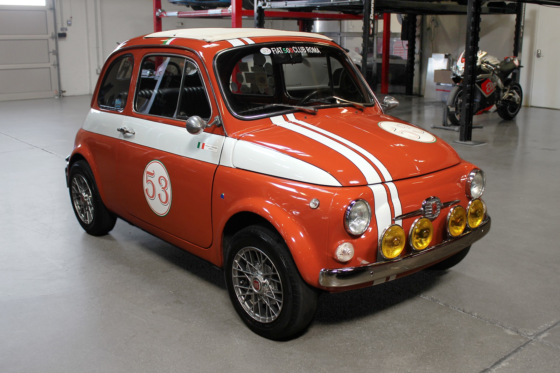 Used 1972 FIAT 500L for sale Sold at San Francisco Sports Cars in San Carlos CA 94070 1