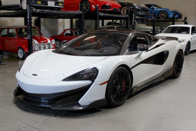 Used 2019 McLaren 600LT for sale $219,995 at San Francisco Sports Cars in San Carlos CA 94070 3