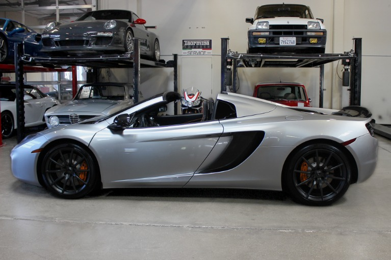 Used 2013 McLaren MP4-12C Spider for sale $115,995 at San Francisco Sports Cars in San Carlos CA 94070 4