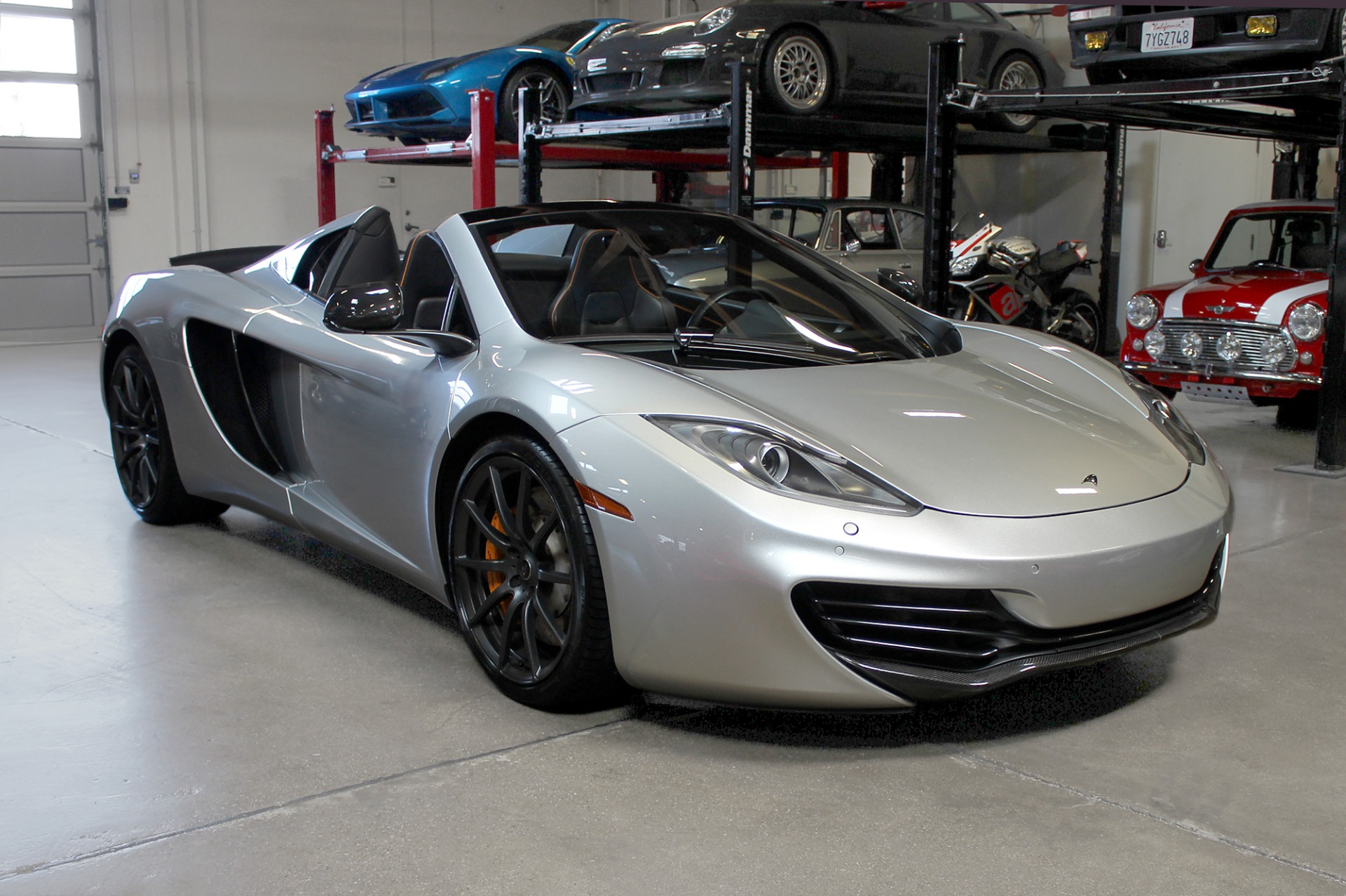 Used 2013 McLaren MP4-12C Spider for sale $115,995 at San Francisco Sports Cars in San Carlos CA 94070 1