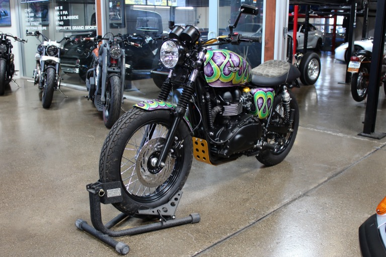 Used 2014 Triumph Scrambler for sale $9,995 at San Francisco Sports Cars in San Carlos CA 94070 3