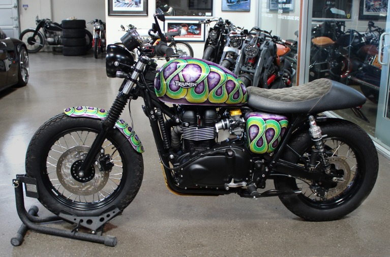 Used 2014 Triumph Scrambler for sale $9,995 at San Francisco Sports Cars in San Carlos CA 94070 4