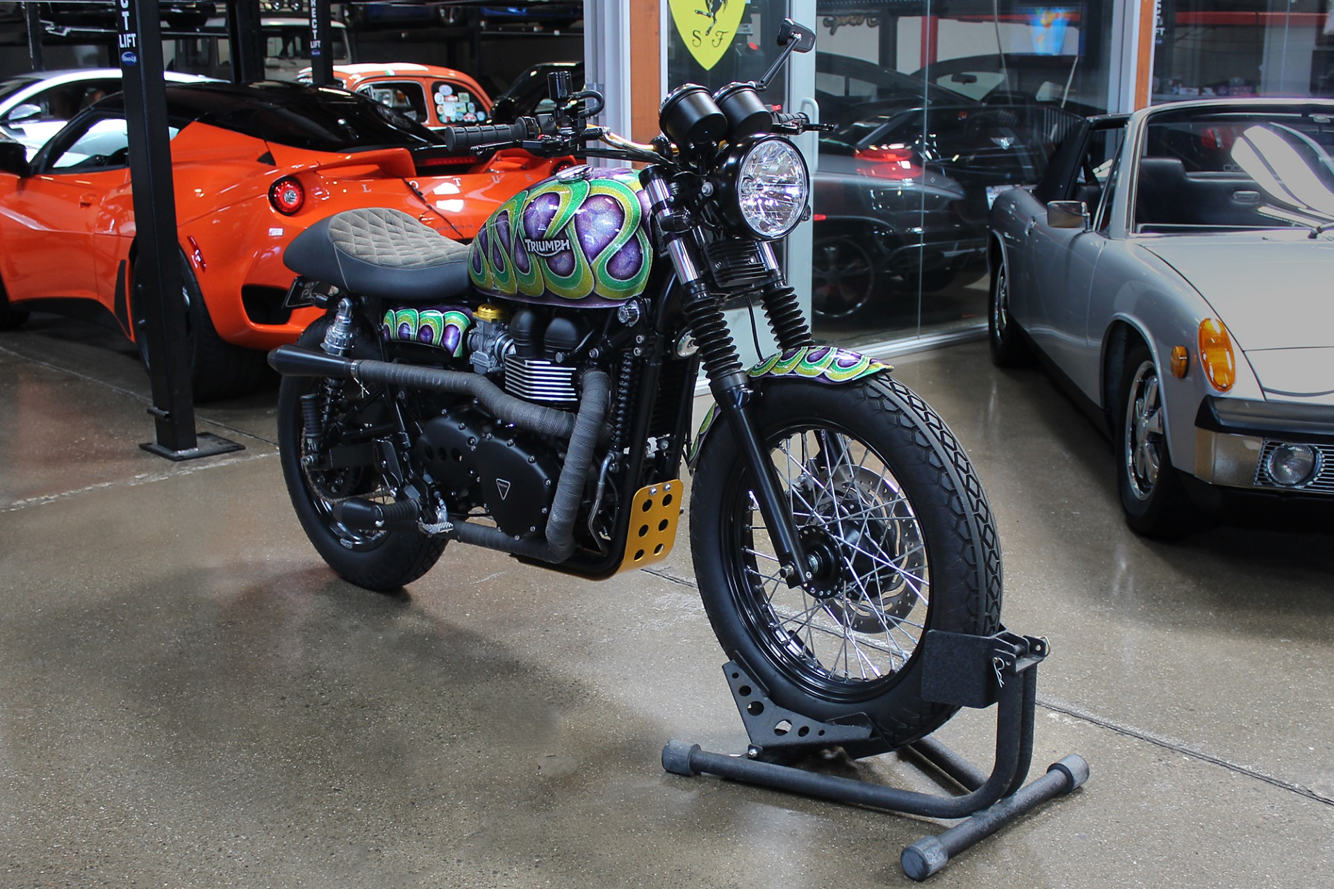Used 2014 Triumph Scrambler for sale $9,995 at San Francisco Sports Cars in San Carlos CA 94070 1
