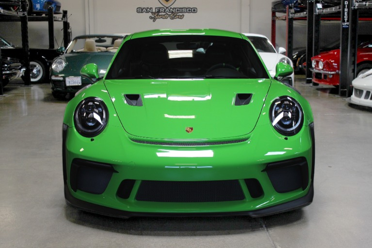 Used 2019 Porsche 911 GT3 RS for sale Sold at San Francisco Sports Cars in San Carlos CA 94070 2