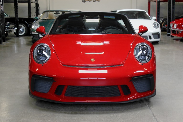Used 2019 Porsche 911 Speedster for sale Sold at San Francisco Sports Cars in San Carlos CA 94070 2