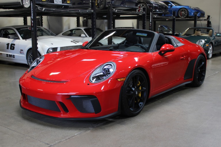 Used 2019 Porsche 911 Speedster for sale Sold at San Francisco Sports Cars in San Carlos CA 94070 3