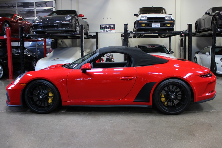 Used 2019 Porsche 911 Speedster for sale Sold at San Francisco Sports Cars in San Carlos CA 94070 4