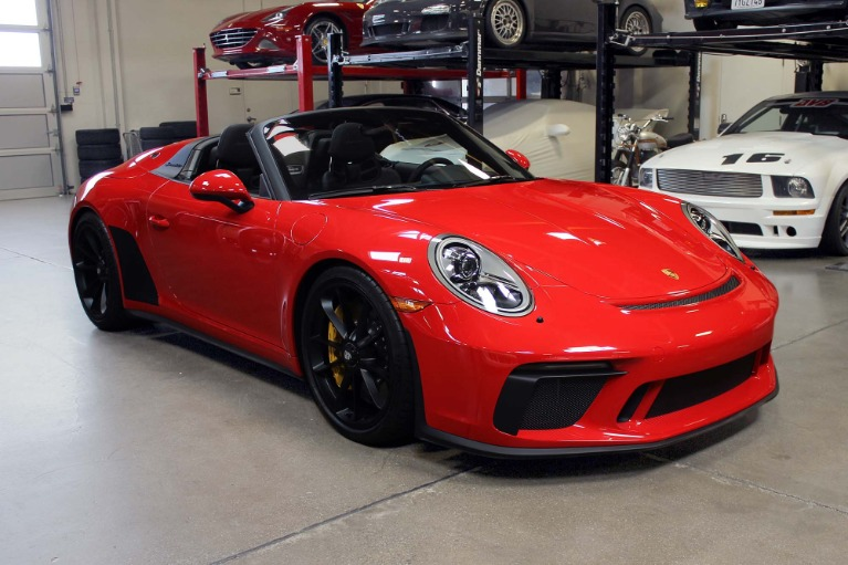 Used 2019 Porsche 911 Speedster for sale $309,995 at San Francisco Sports Cars in San Carlos CA