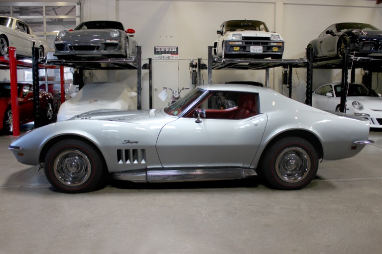 Used 1969 Chevrolet Corvette 427 for sale $46,995 at San Francisco Sports Cars in San Carlos CA 94070 4
