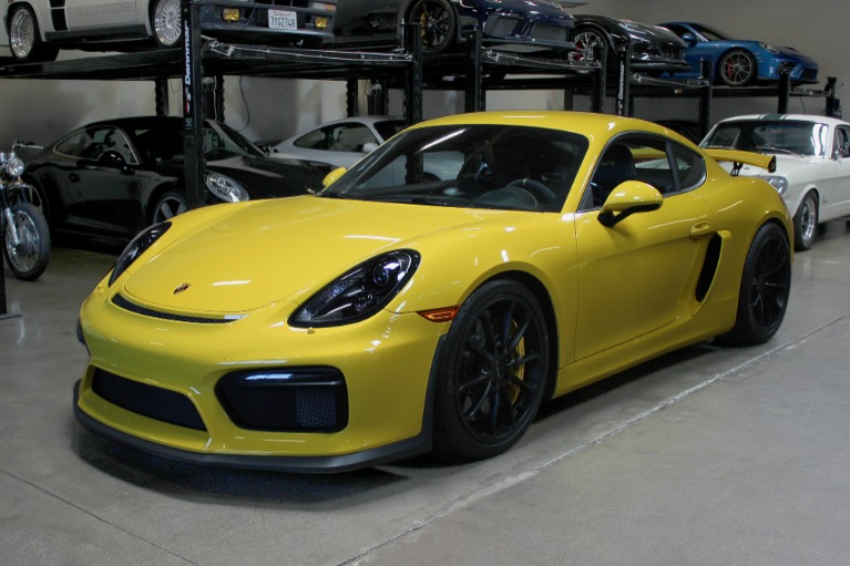 Used 2016 Porsche Cayman GT4 for sale Sold at San Francisco Sports Cars in San Carlos CA 94070 3