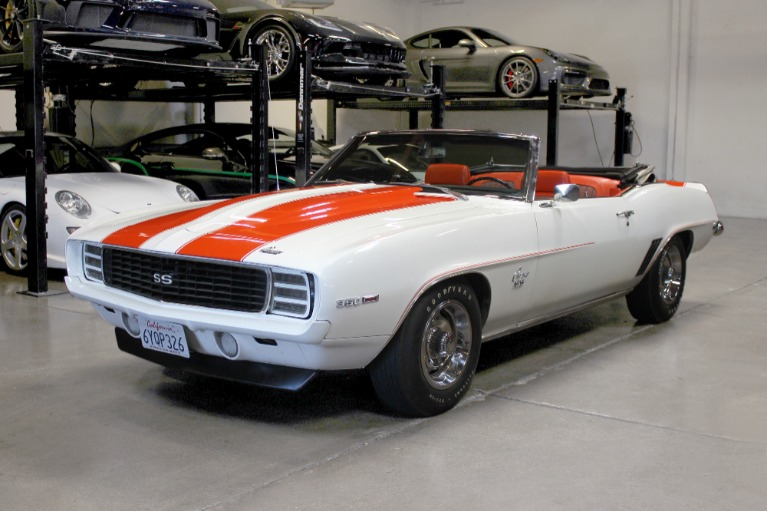 Used 1969 CHEVROLET CAMARO INDY PACE CAR for sale Sold at San Francisco Sports Cars in San Carlos CA 94070 3