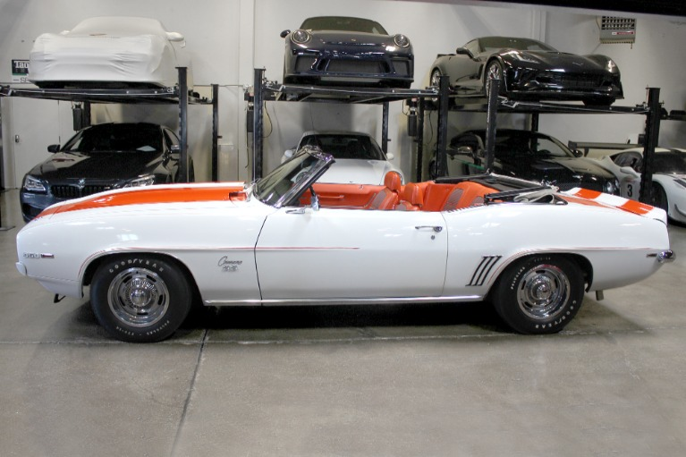 Used 1969 CHEVROLET CAMARO INDY PACE CAR for sale Sold at San Francisco Sports Cars in San Carlos CA 94070 4