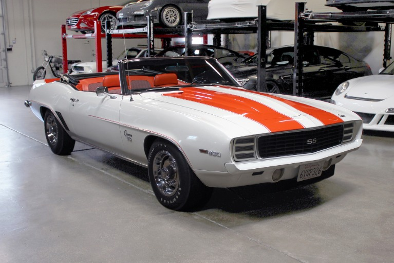 Used 1969 CHEVROLET CAMARO INDY PACE CAR for sale $62,995 at San Francisco Sports Cars in San Carlos CA