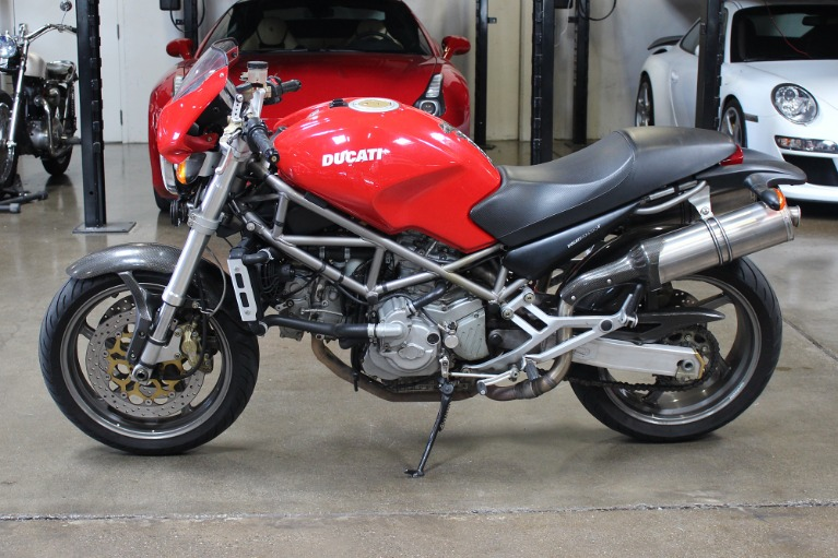 Used 2001 DUCATI MONSTER S4 for sale Sold at San Francisco Sports Cars in San Carlos CA 94070 4