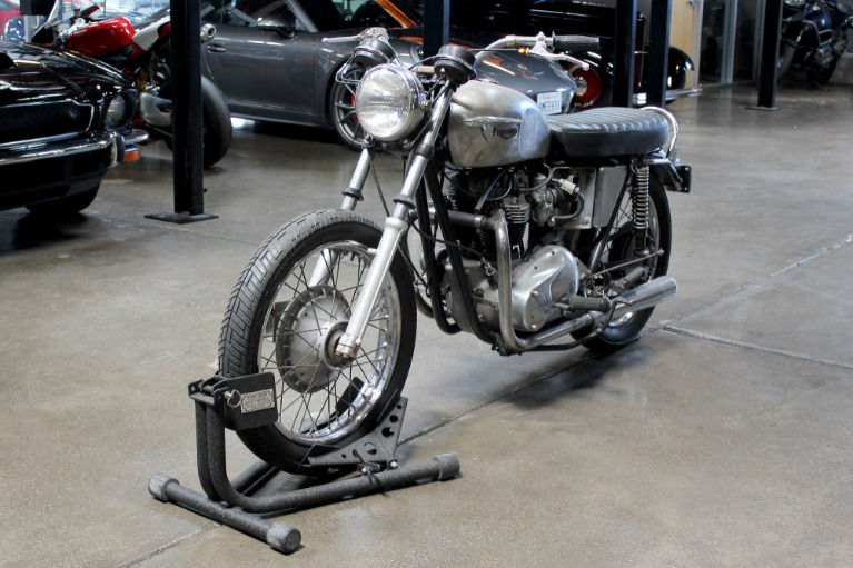 Used 1966 TRIUMPH T120 project for sale Sold at San Francisco Sports Cars in San Carlos CA 94070 3