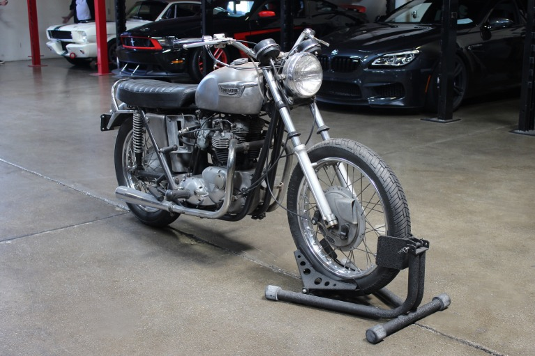 Used 1966 TRIUMPH T120 BOBBER for sale $4,995 at San Francisco Sports Cars in San Carlos CA