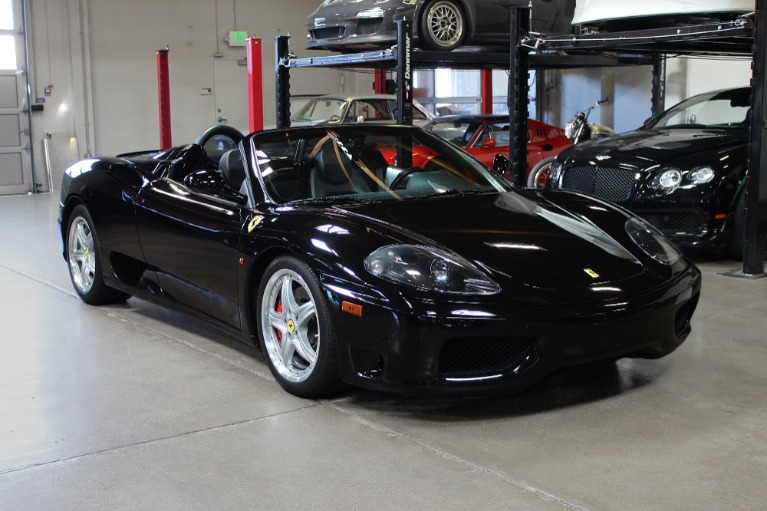 Used 2005 Ferrari 360 Spider for sale $109,995 at San Francisco Sports Cars in San Carlos CA