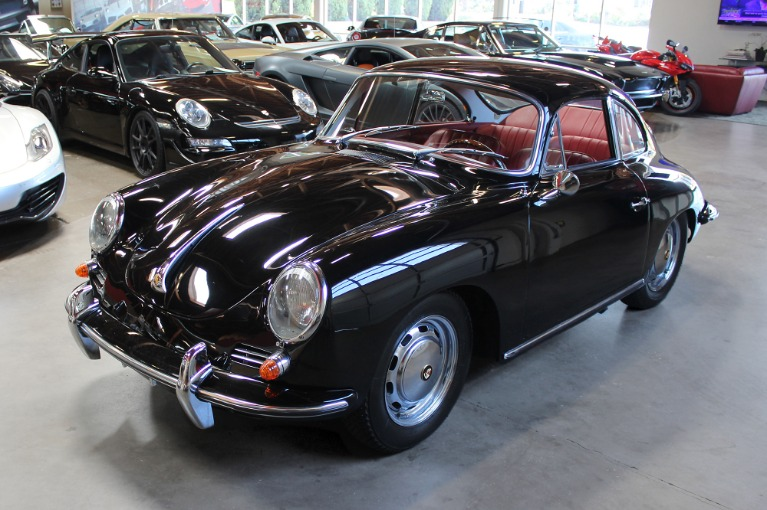Used 1964 PORSCHE 356SC COUPE for sale Sold at San Francisco Sports Cars in San Carlos CA 94070 3