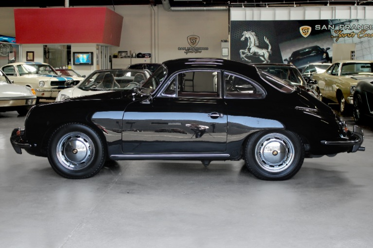 Used 1964 PORSCHE 356SC COUPE for sale Sold at San Francisco Sports Cars in San Carlos CA 94070 4