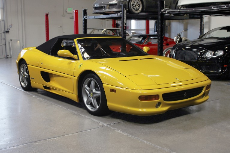 Used 1998 FERRARI 355 SPIDER F1 for sale $69,995 at San Francisco Sports Cars in San Carlos CA 94070 1