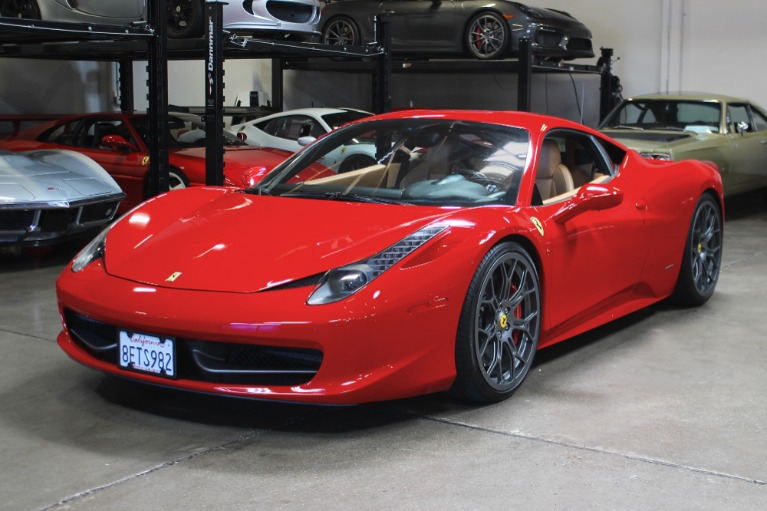 Used 2010 Ferrari 458 Italia for sale Sold at San Francisco Sports Cars in San Carlos CA 94070 2