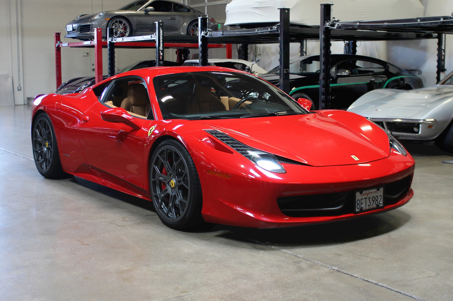 Used 2010 Ferrari 458 Italia for sale Sold at San Francisco Sports Cars in San Carlos CA 94070 1