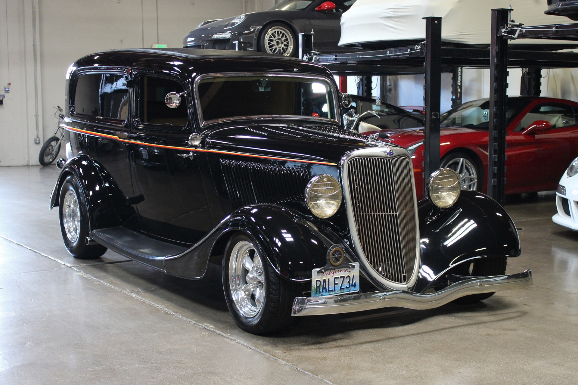 Used 1934 Ford Sedan delivery for sale Sold at San Francisco Sports Cars in San Carlos CA 94070 1