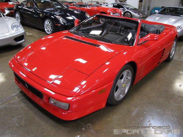 Used 1995 Ferrari 348 Spider for sale Sold at San Francisco Sports Cars in San Carlos CA 94070 2