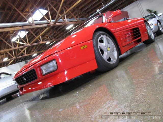 Used 1995 Ferrari 348 Spider for sale Sold at San Francisco Sports Cars in San Carlos CA 94070 3