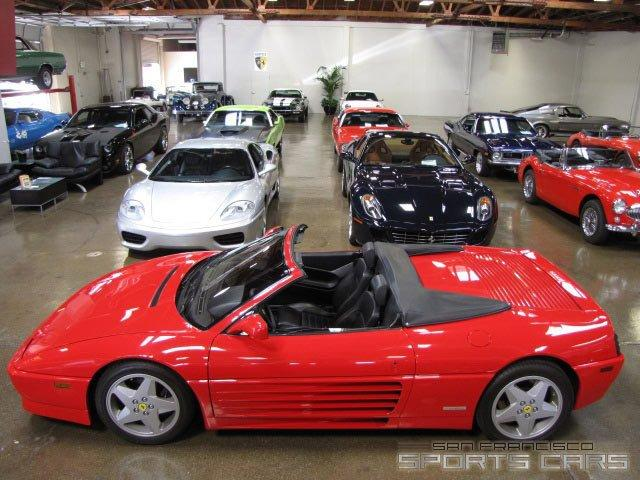 Used 1995 Ferrari 348 Spider for sale Sold at San Francisco Sports Cars in San Carlos CA 94070 4