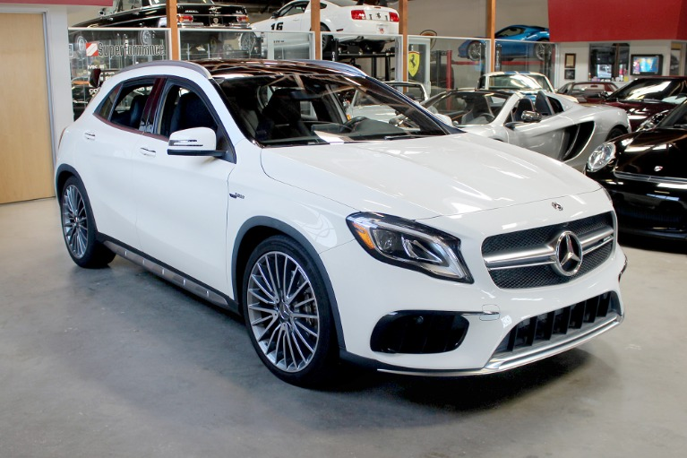 Used 2018 Mercedes-Benz GLA AMG GLA 45 for sale $35,995 at San Francisco Sports Cars in San Carlos CA