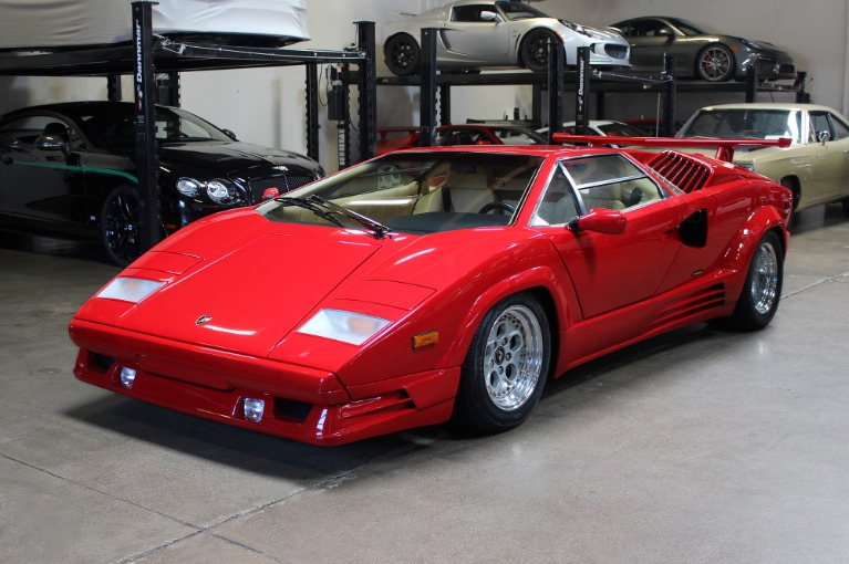 Used 1989 Lamborghini Countach Anniversary for sale Sold at San Francisco Sports Cars in San Carlos CA 94070 3
