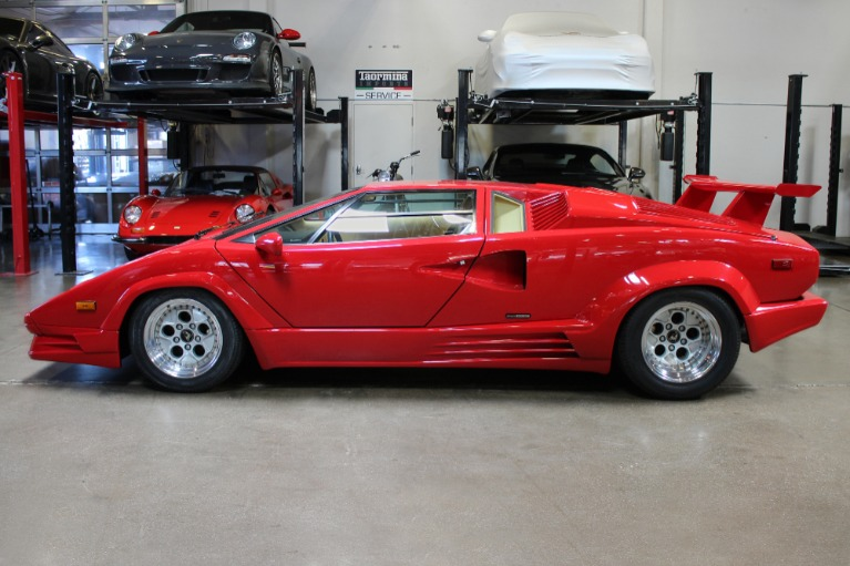 Used 1989 Lamborghini Countach Anniversary for sale Sold at San Francisco Sports Cars in San Carlos CA 94070 4
