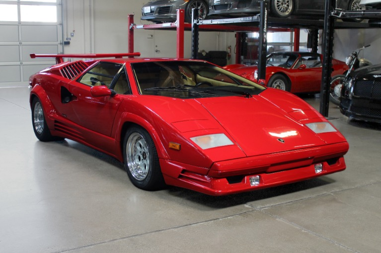 Used 1989 Lamborghini Countach Anniversary for sale $314,995 at San Francisco Sports Cars in San Carlos CA